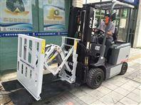 袋装化肥推拉器推出器免人工搬运装车设备