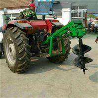 新型拖拉机挖坑机价格低