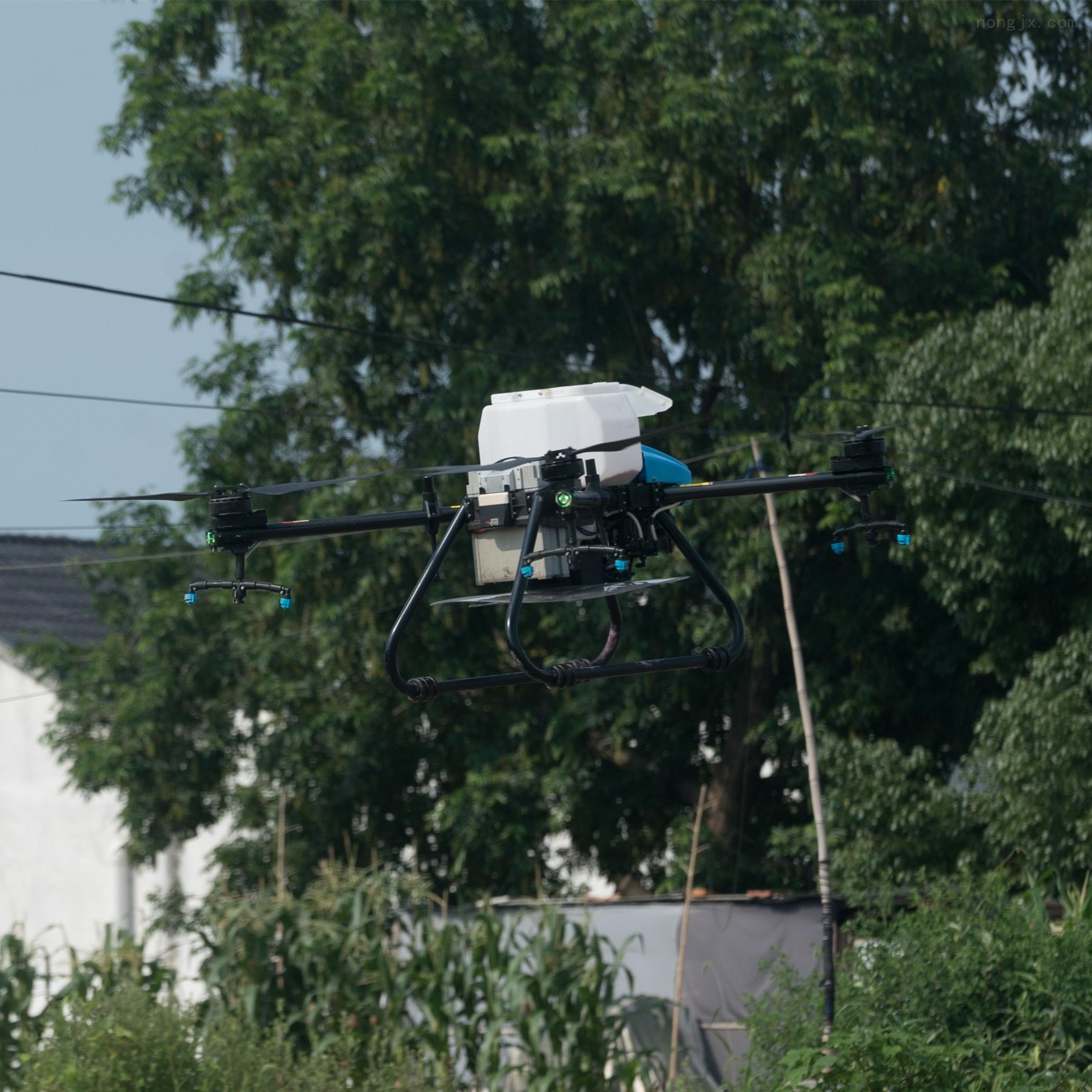 啟飛智能A22打藥播種施肥植保四軸飛機