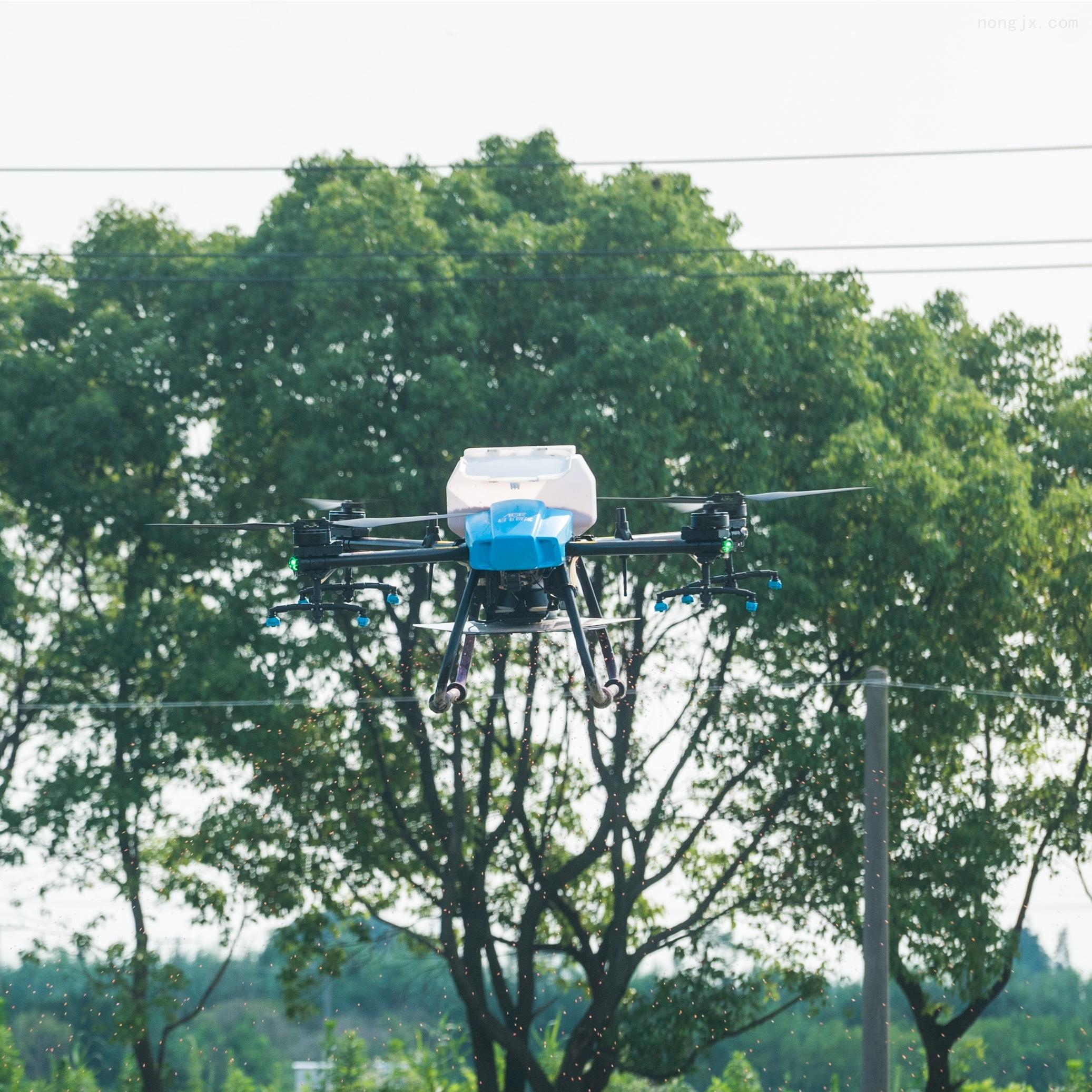 启飞智能22升可拆卸机臂大容量打药飞机