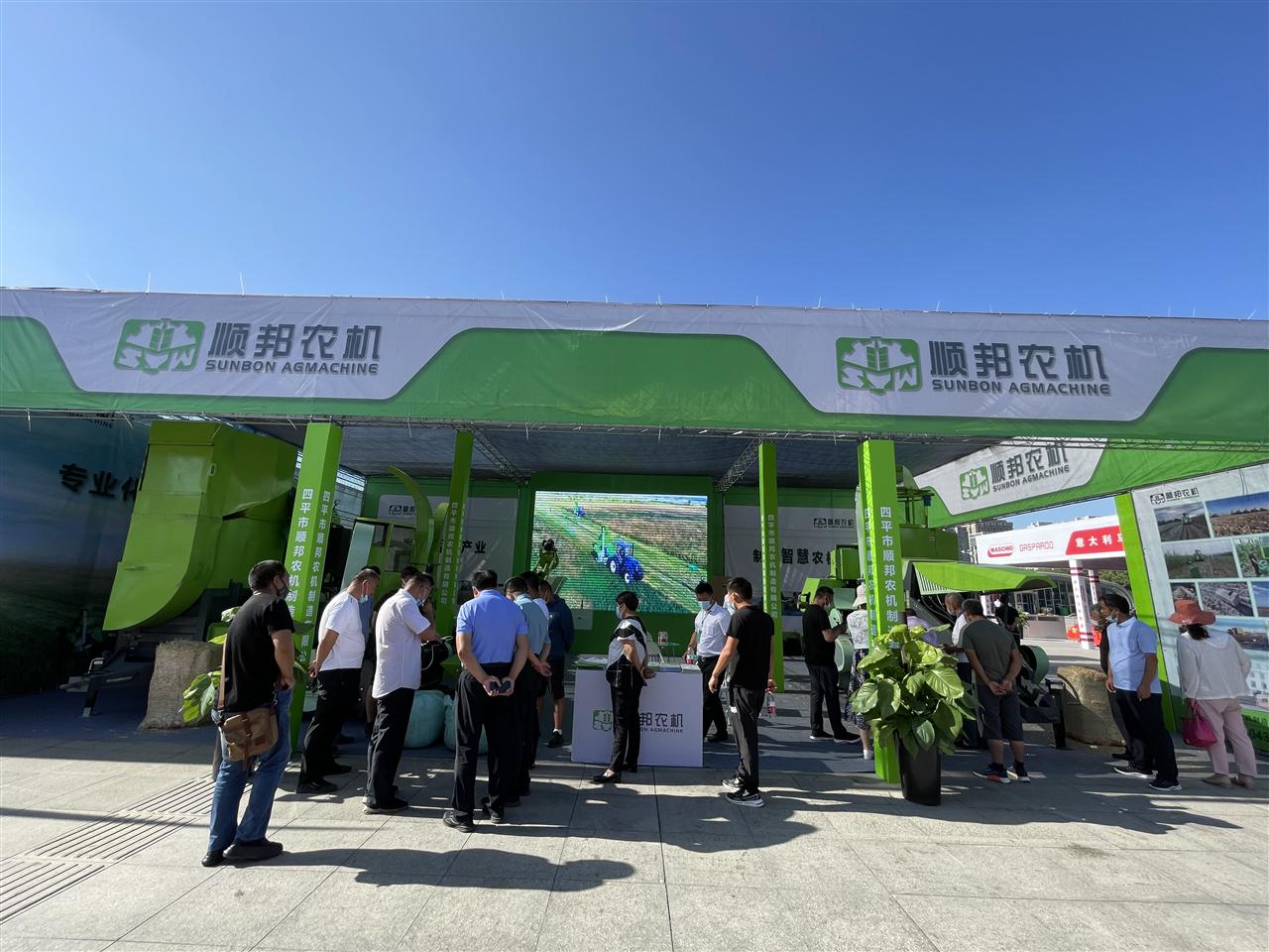 2021新疆农机展丨顺邦秸秆打捆机再掀热潮