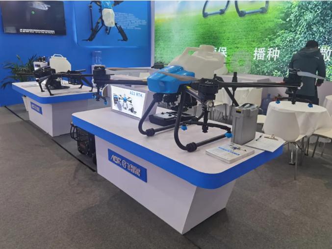 2021青岛农机展正式开幕,启飞智能带你参观!