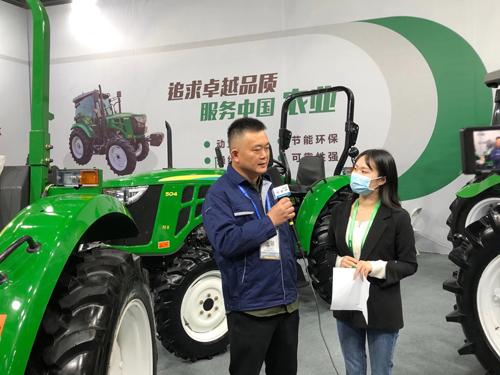 CIAME2020:专访浙江杭拖农业装备有限公司王路春